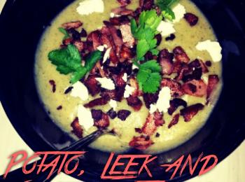 Potato, Leek and Silverbeet Soup