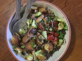 Panzanella and Sumac Salad