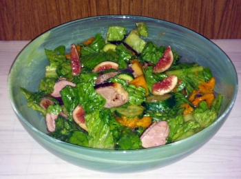 Roast Duck and Fig Salad