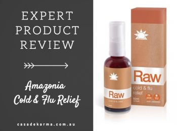 Product Review: Cold & Flu Relief spray by Amazonia